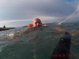 Drowning man!